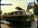 Delorean DMC-12 в Нижнем Новгороде из фильма (назад в будущее)
